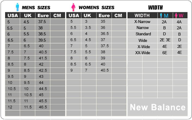 New balance youth size chart new balance dc 380